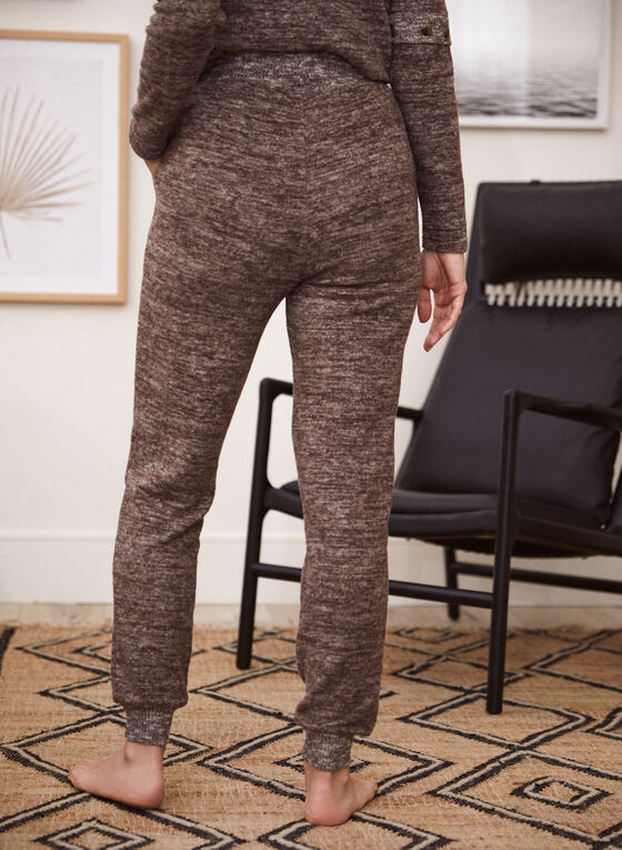 Pull-On Jogger Pants, Brown