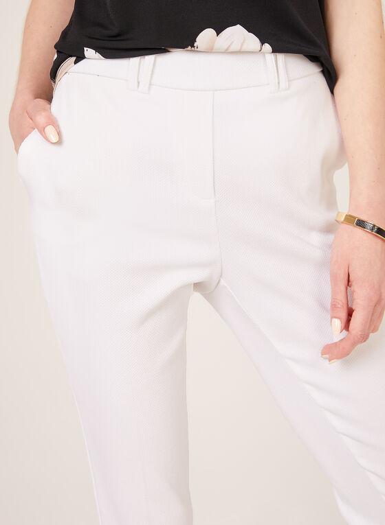 Jules & Leopold - Capri pull-on jambe étroite, Blanc, hi-res
