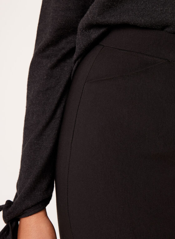 Simon Chang - Pantalon pull-on à jambe étroite, Noir, hi-res