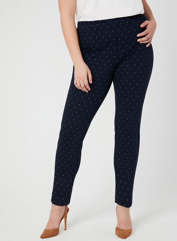 Modern Fit Slim Leg Pants, Blue, hi-res