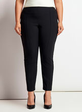 City Fit Slim Leg Pants, Black, hi-res