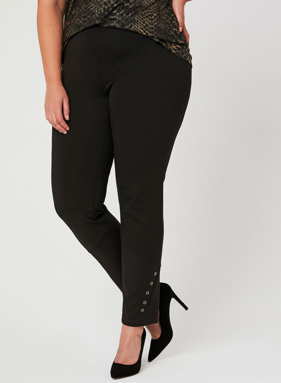 Picadilly - Signature Fit Straight Leg Pants, Black, hi-res