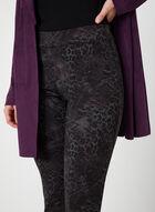 Modern Fit Printed Pants, Purple, hi-res
