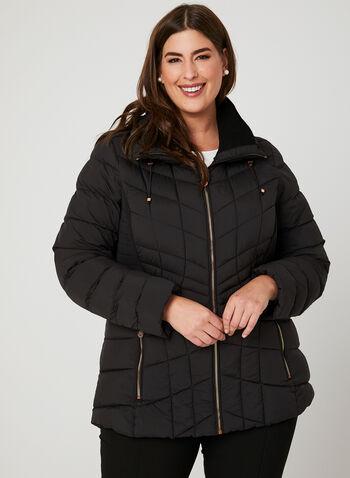 Bernardo - PrimaLoft® Packable Coat, Black, hi-res