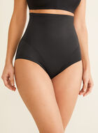 Naomi & Nicole - High-Waist Shaping Briefs, Black