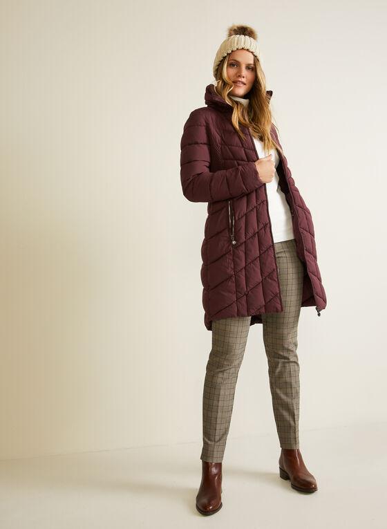 Bernardo - EcoPlume™ Quilted Coat, Red