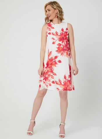 1a0fdf28a7fc Jessica Howard - Floral Print Chiffon Dress