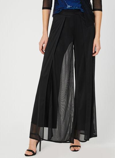 Modern Fit Wide Leg Pants