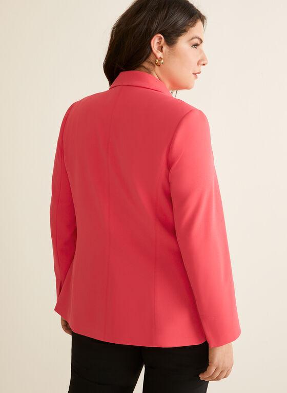 Tie Detail Jacket, Red