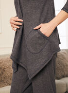 Sweater Knit Cover-Up, Blue