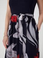 Cleopatra Neck Maxi Dress, Blue, hi-res