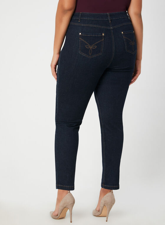 Signature Fit Jeans, Blue