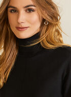 Essential Turtleneck Sweater, Black