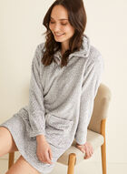 Karmilla Lingerie - Plush Dot Print Nightgown, Multi