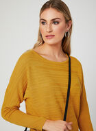 Dolman Sleeve Sweater, Yellow, hi-res