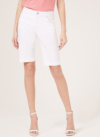 Simon Chang –Signature Fit Microtwill Shorts, White, hi-res
