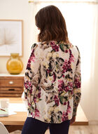 Floral Print Blouse, White