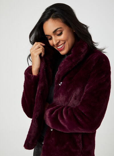 Weatherproof - Faux Fur Coat