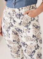 Simon Chang - Capri coupe signature à motif floral, Blanc, hi-res