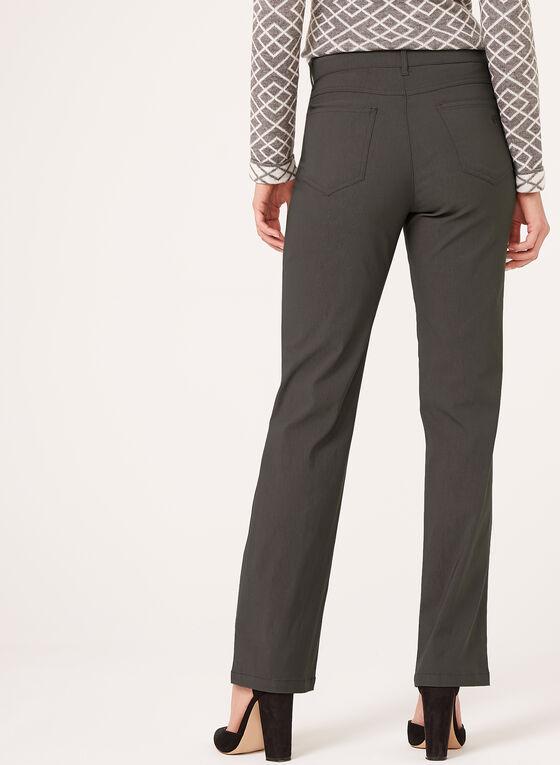 Simon Chang - Straight Leg Microtwill Pants, Grey, hi-res