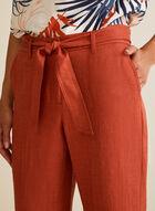 Jupe-culotte à ceinture, Orange