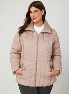 Bernardo - PrimaLoft® Packable Coat, Pink, hi-res