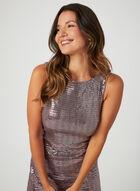 Short Sequin Sheath Dress, Purple, hi-res