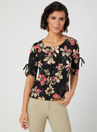 Floral Print Top, Multi, hi-res