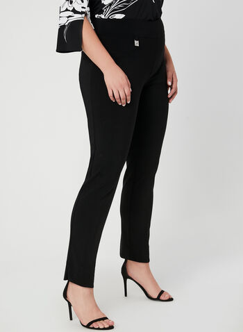Joseph Ribkoff - Structured Leggings, Black, hi-res,  Pull-on, leggings, fall winter 2019, slim leg, Joseph Ribkoff