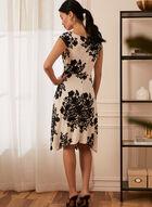 Floral Print Dress, White