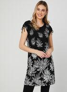Floral Print Tunic, Black, hi-res