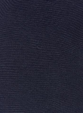 Sheer Frill Wrap , Blue, hi-res