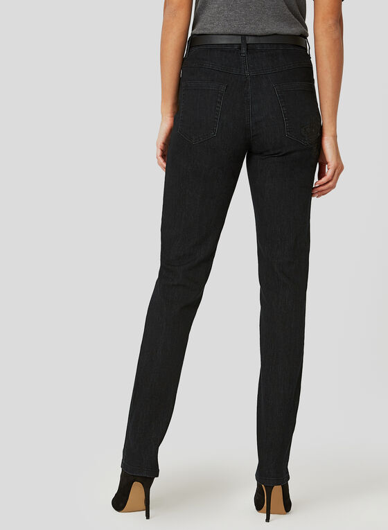 Simon Chang - Signature Fit Jeans, Black, hi-res