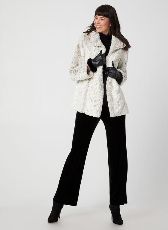 Novelti - Faux Fur Coat, Off White