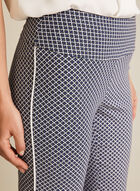 Capri pull-on motif géométrique, Noir