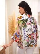 Charlie B - Floral Kimono Cover Up, Multi