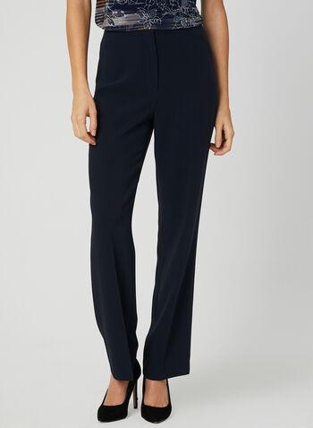 Louben - Signature Fit Pants, Blue, hi-res,