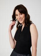 Ombré Effect Sleeveless Dress, Black, hi-res