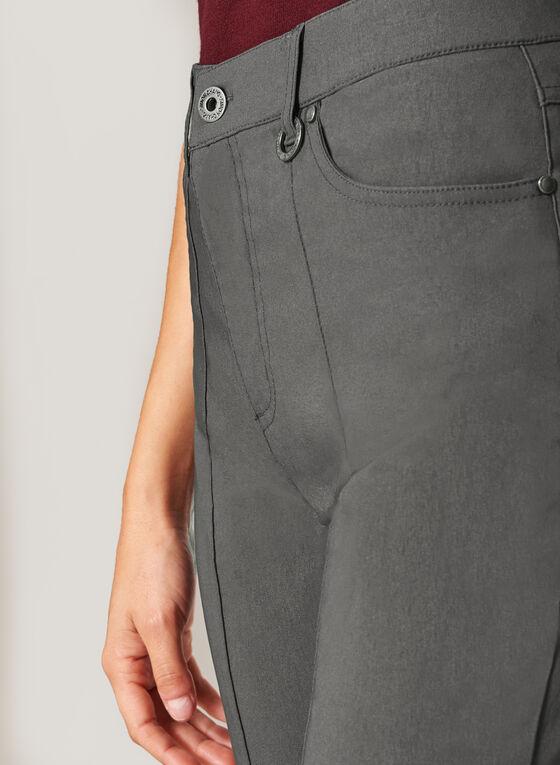 Simon Chang - Microtwill Straight Leg Pants, Grey, hi-res