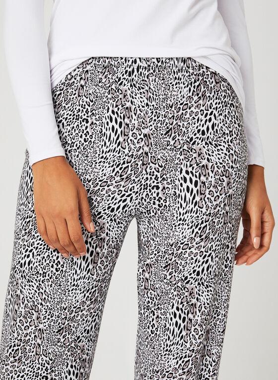 Animal Print Pyjama Set, Grey, hi-res