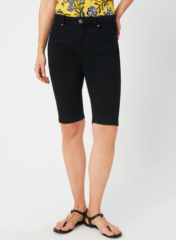 Modern Fit Shorts, Black, hi-res