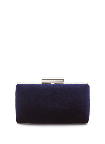 Velvet Box Clutch, , hi-res