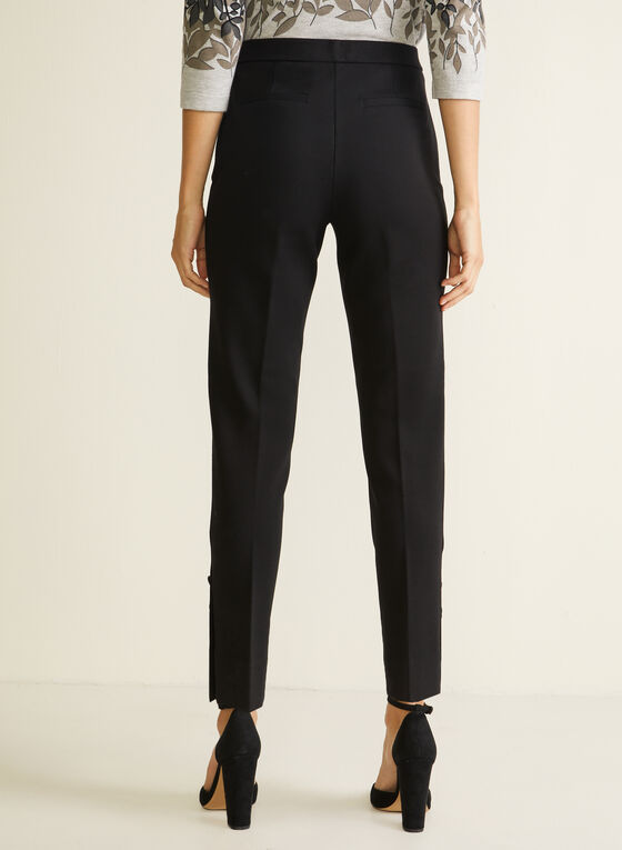 Signature Fit Slim Leg Pants, Black