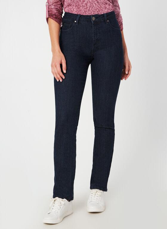 Simon Chang - Signature Fit Straight Leg Pants, Blue, hi-res
