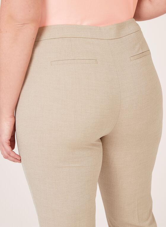 Pantalon coupe moderne à pinces, Gris, hi-res