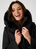 Fen-nelli – Removable Vest & Hood Wool Coat, Grey, hi-res