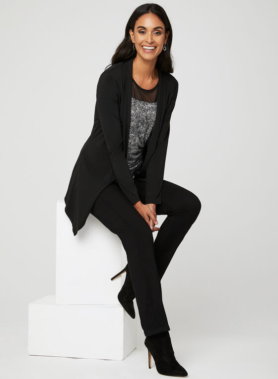 Carreli Jeans – Angela Straight Leg Denim Pants, Black, hi-res