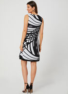 Reversible Jersey Dress, Black, hi-res