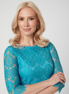 Jessica Howard - Lace Dress, Blue, hi-res