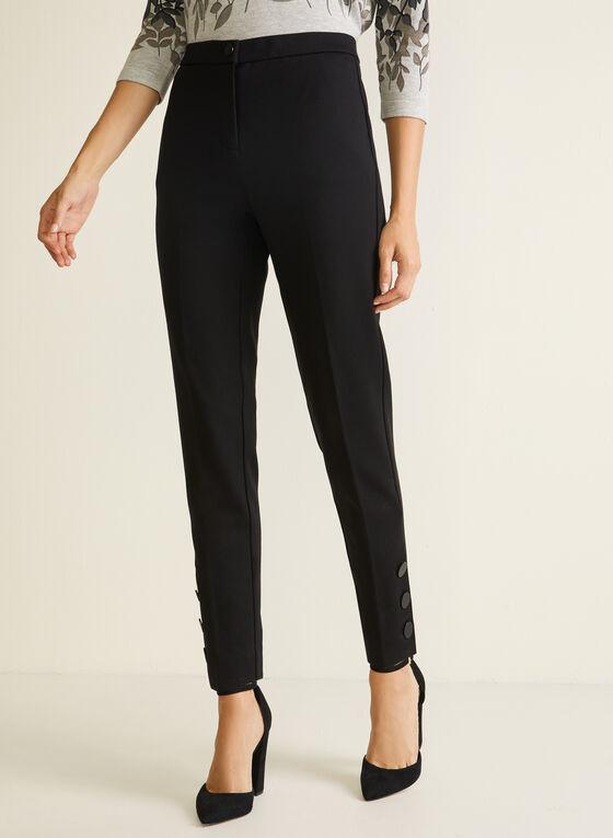 Signature Fit Slim Leg Pants, Black